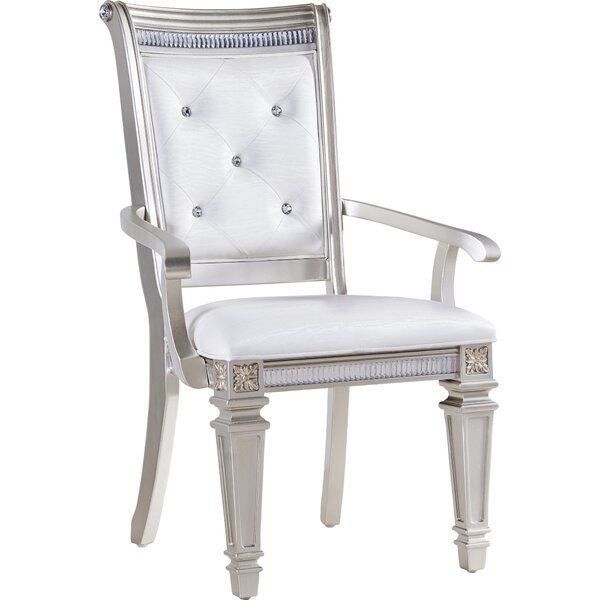 Tiffany Arm Chair (Set of 2) by Fairfax Home Collections