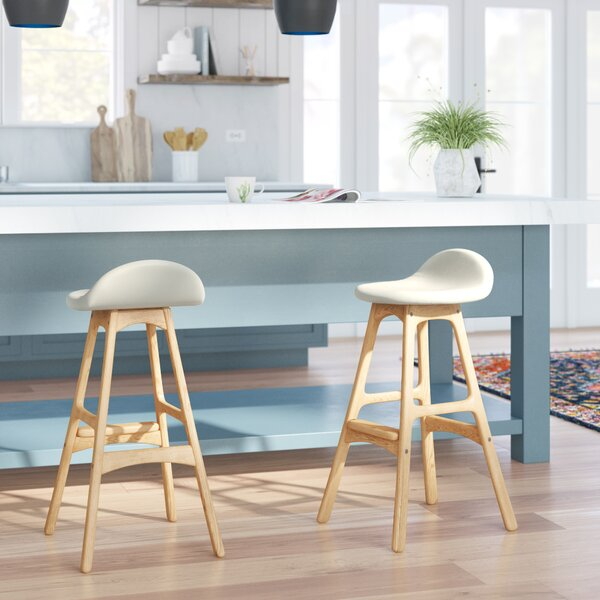 Eldred Swivel Bar & Counter Stool by Mercury Row