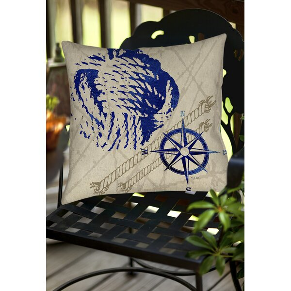 Clermont Indoor/Outdoor Throw Pillow by Breakwater Bay