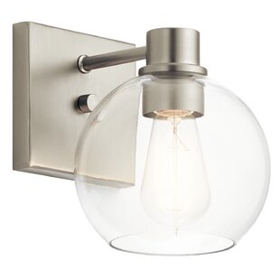 Shop For Hoover 1-Light Armed Sconce By Latitude Run