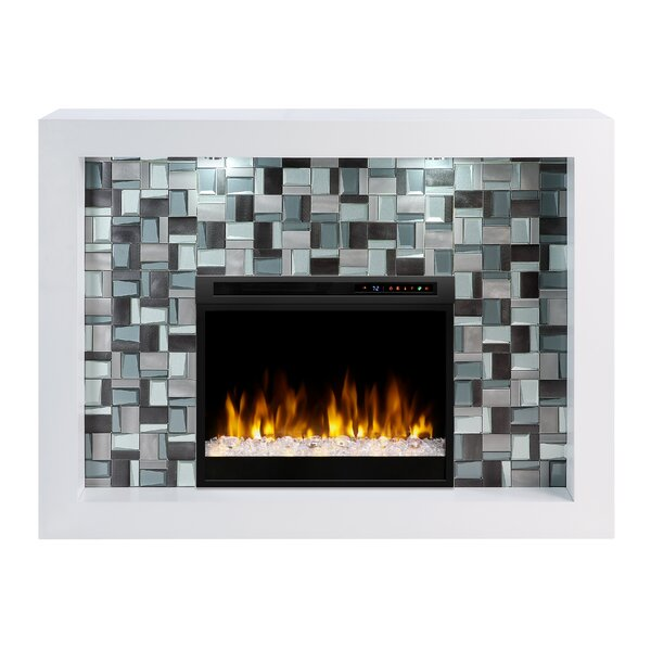 Constance Recessed Electric Fireplace by Dimplex