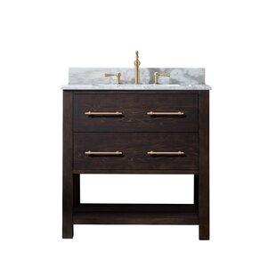 Modern 31 35 Bathroom Vanities Allmodern