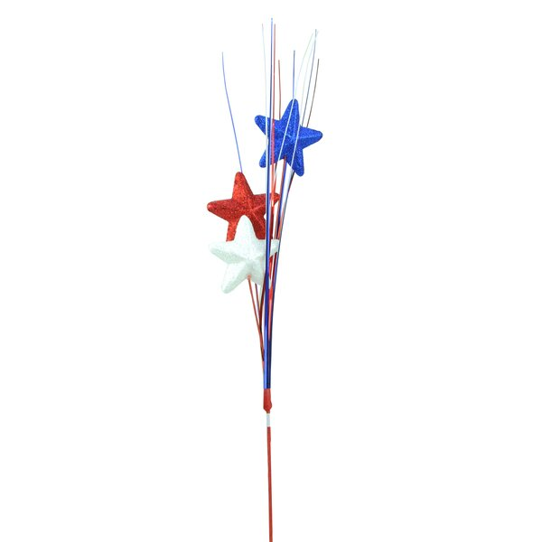 Decorative Glitter Star Patriotic Party Pick by Northlight Seasonal