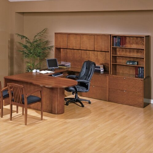 Lemasters 6-Piece U-Shape Desk Office Suite by Darby Home Co