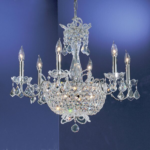 Griffis 6-Light Candle Style Chandelier by House of Hampton