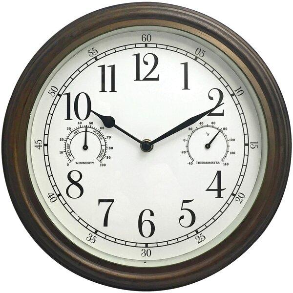 Chaz 12 Wall Clock By Charlton Home.