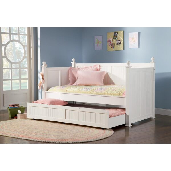 Pennrock Central Point Twin Daybed With Trundle By Beachcrest Home