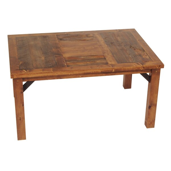 Jaramillo Solid Wood Dining Table by Loon Peak Loon Peak