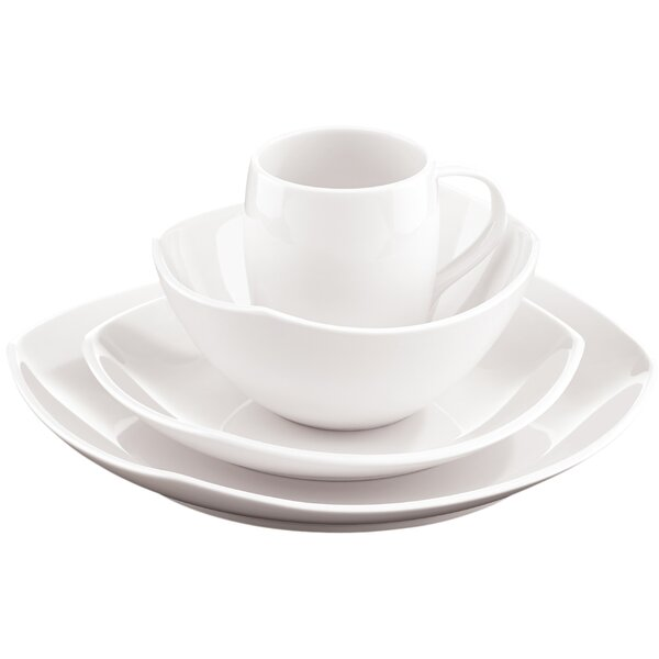 Classic Fjord 16 Piece Dinnerware Set, Service for 4 by Dansk