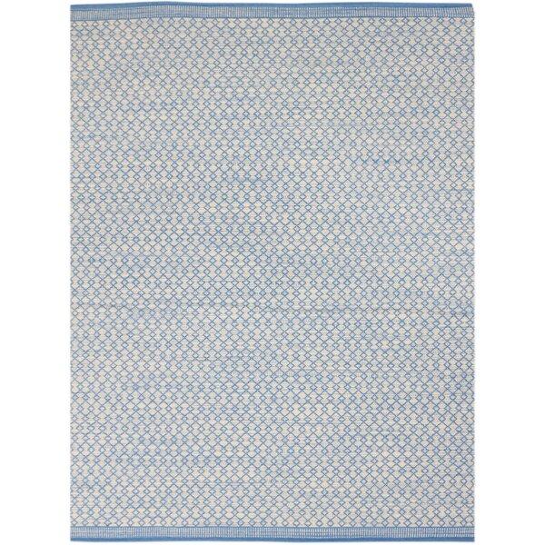 Latimer Modern Hand-Woven Blue Area Rug by Laurel Foundry Modern Farmhouse