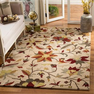 Coupon Jardin Beige/Multi Rug By Safavieh