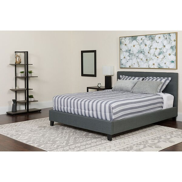 Marin Twin Upholstered Platform Bed by Winston Porter