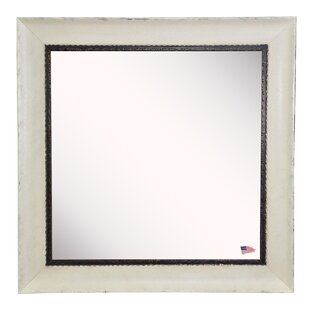 August Grove Darien Square Wall Mirror