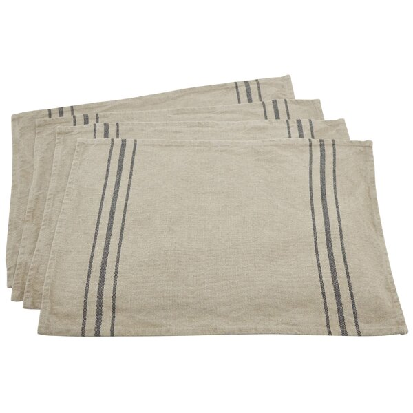 Everyday Linen 20 Placemat (Set of 4) by Saro