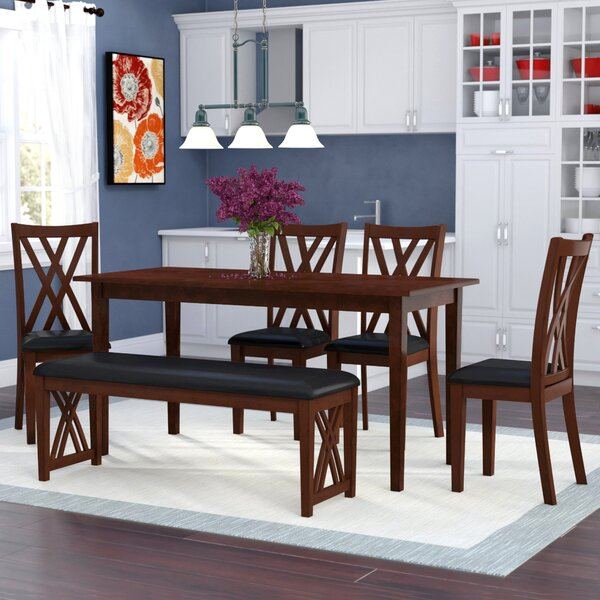 Kaylani 6 Piece Dining Set by Winston Porter