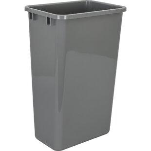 Plastic 12.5 Gallon Trash Can