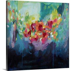 Bora, Bora, 2015 by Amira Rahim Painting Print on Canvas by Canvas On Demand