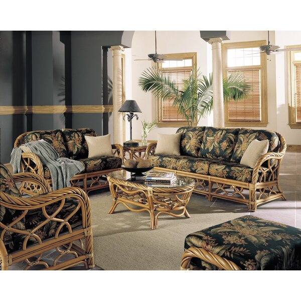 Galindo 6 Piece Living Room Set by Bay Isle Home