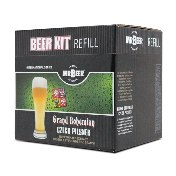 Mr. Beer Czech Pilsner Beer Making Refill Kit by Mr. Beer