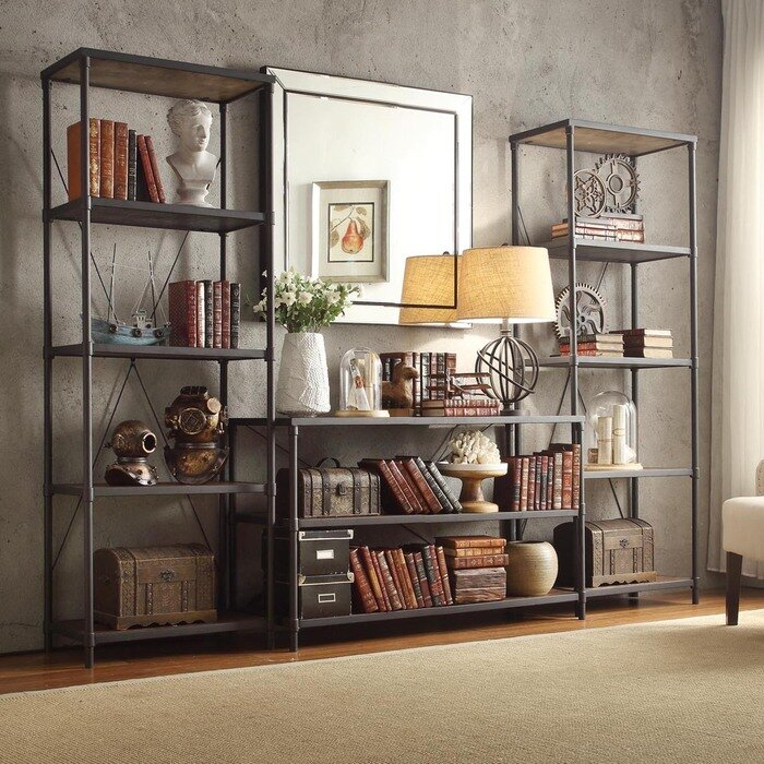 Mercury Row Hera Etagere Bookcase