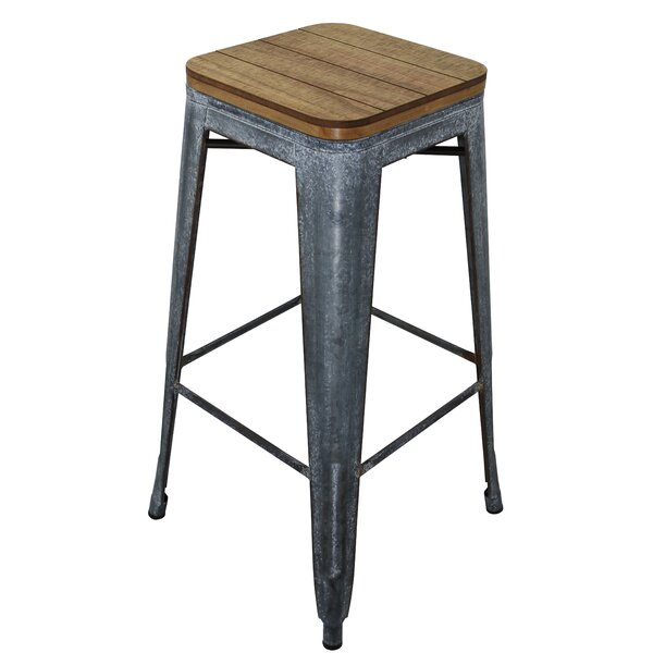 Manor Wood 30.5 Bar Stool by Williston Forge