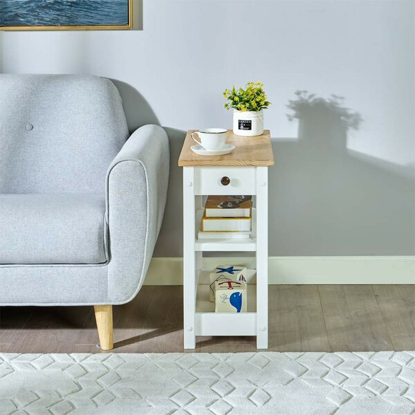 Hause End Table With Storage By August Grove