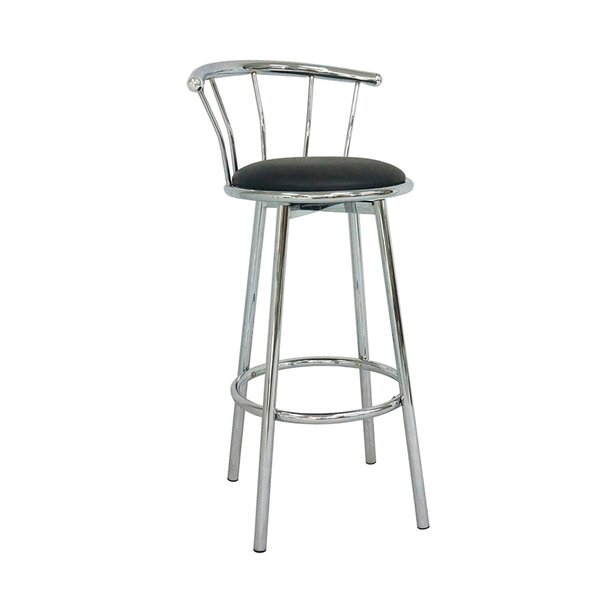 Kennedi 38 Swivel Bar Stool (Set of 2) by Ebern Designs