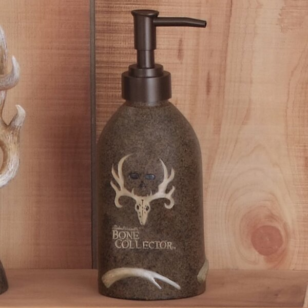 Pump Soap & Lotion Dispenser by Bone Collector