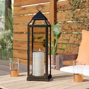 Montalvo Glass / Iron Lantern