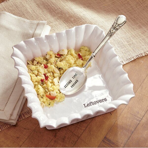 Leftover Square 2 Piece Casserole Dish Set by Mud Pie™