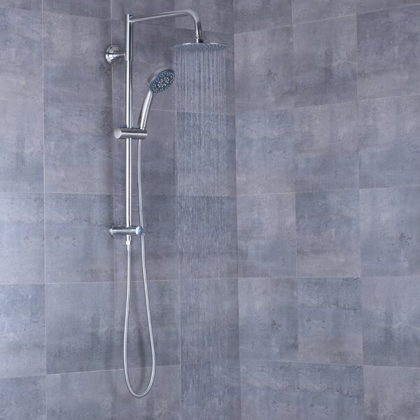 Pressure-Balanced Complete Shower System By AFA Stainless