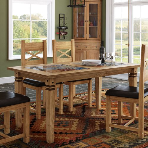 Boundary Ridge Tile Top Dining Table Brambly Cottage