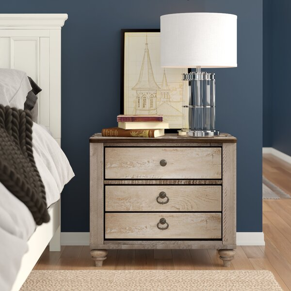 Tavistock 3 Drawer Nightstand by Three Posts Teen