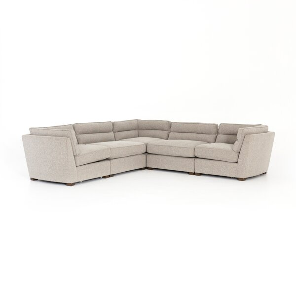 Seal 5-Piece Sectional by Wrought Studio