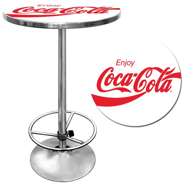 Enjoy Coke Pub Table by Trademark Global