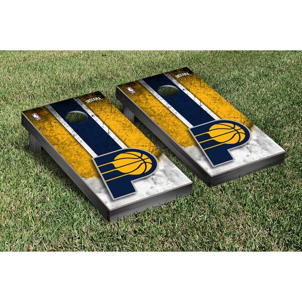 NBA Vintage Version Cornhole Game Set by Victory Tailgate