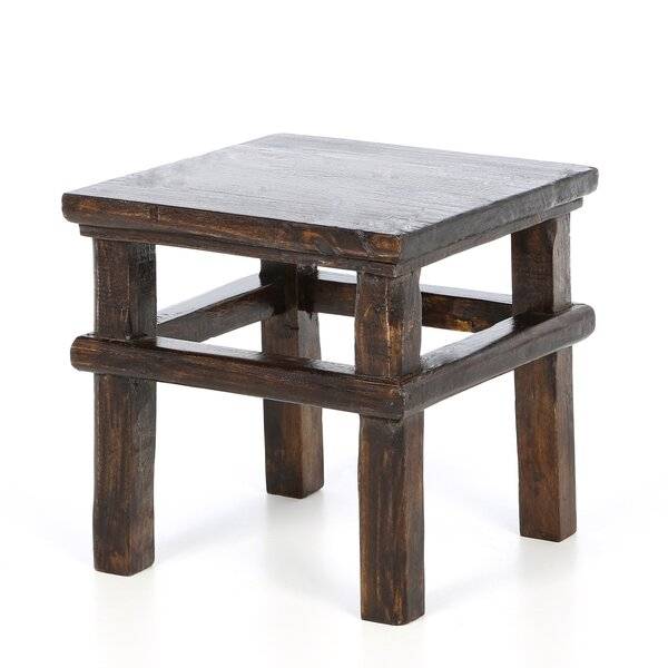 Rexford Square Stool by Bungalow Rose