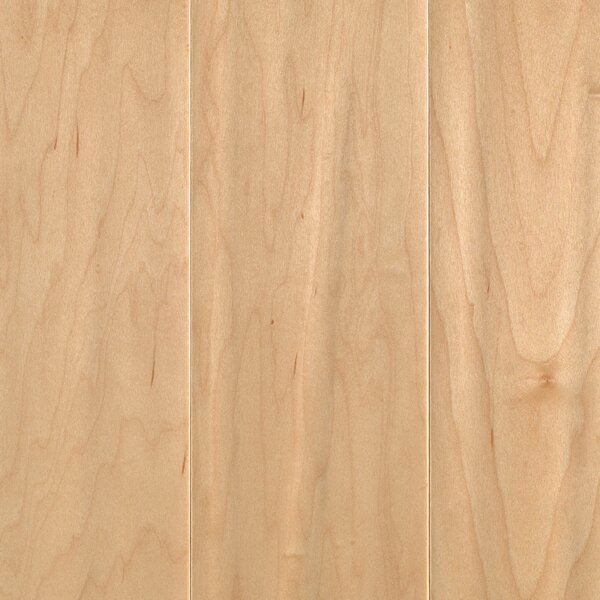 Brogandale 5 Engineered Maple Hardwood Flooring in Matte Glossy Country Natural by Mohawk Flooring