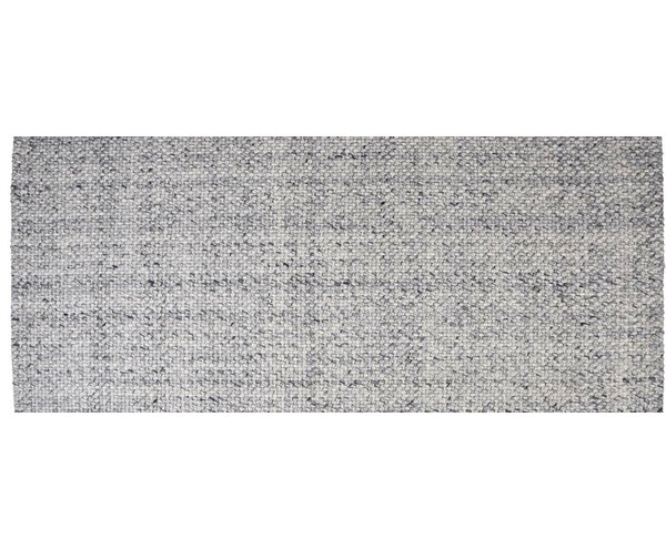 Hand-Woven Blue Ash Area Rug by Foundry Select