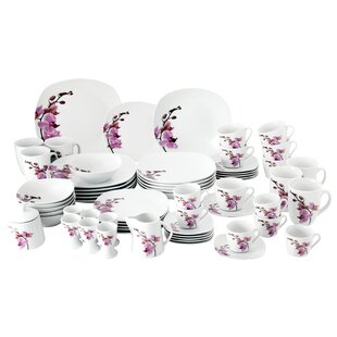 Kyoto 62 Piece Dinnerware Set with Serveware Service for 6  sc 1 st  Wayfair & Dinner Sets | Wayfair.co.uk