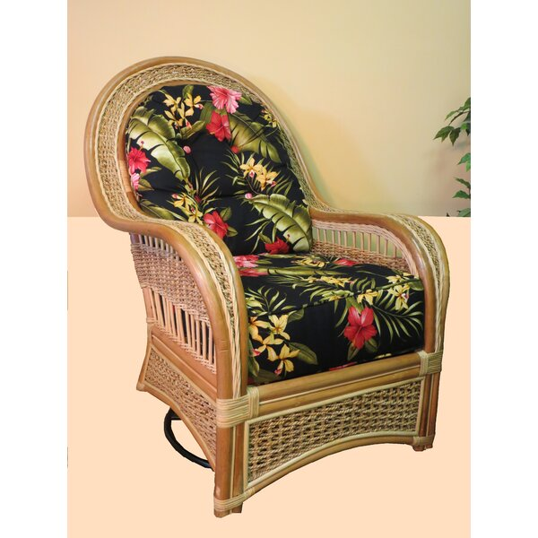 Swivel Rocking Chair By Spice Islands Wicker