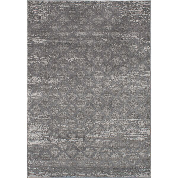 Finian Gray Area Rug by 17 Stories