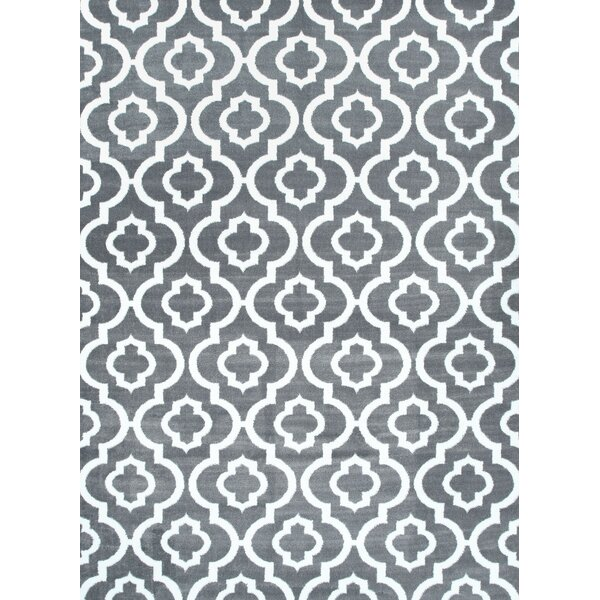 Stimpson Persian Gray Area Rug by Charlton Home