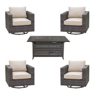 Lara 5 Piece Sectional Set with Cushions By Brayden Studio