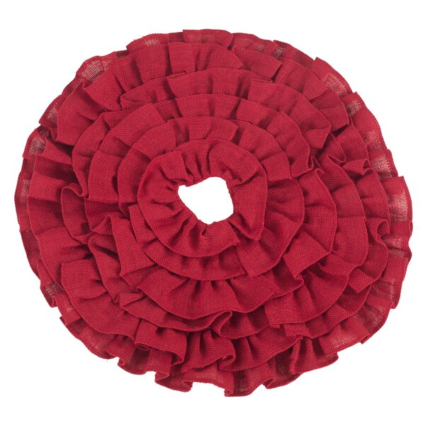 Ruffle Miniature Tree Skirt by The Holiday Aisle