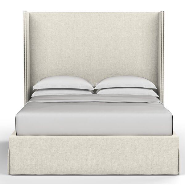 Dubbo Box Upholstered Panel Bed by Corrigan Studio