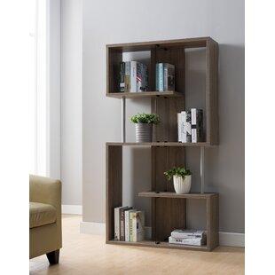 Aveline Geometric Bookcase