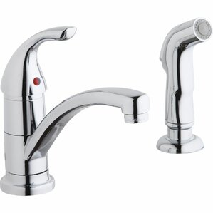 Elkay Everyday Single Handle Kitchen Faucet with Side Spray