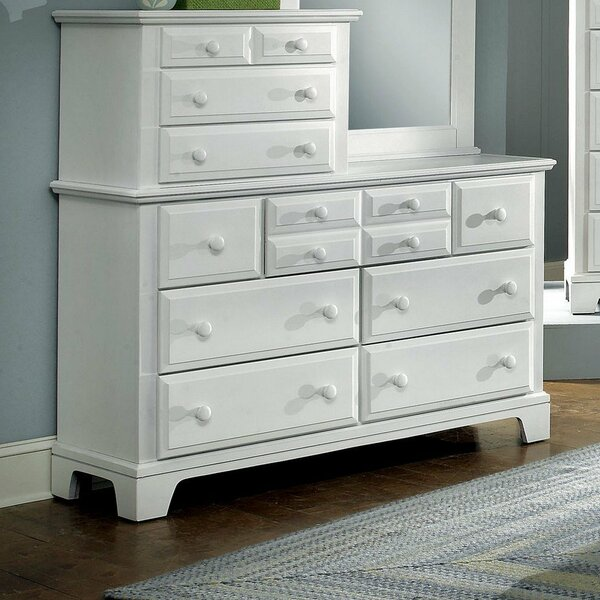 Cedar Drive 10 Drawer Double Dresser by Darby Home Co