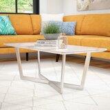 Rosenbalm Faux Marble Coffee Table by Brayden Studio®